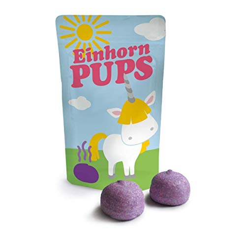Mundo de los Unicornios Marshmellows Malvaviscos, Delicioso Articulo de Broma aprox. 18 gr