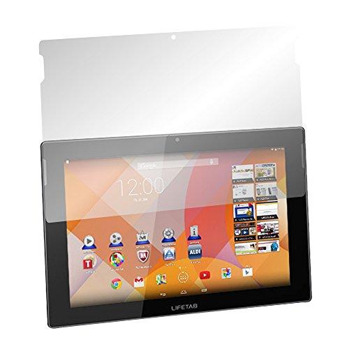 Slabo 2 x Bildschirmschutzfolie für MEDION LIFETAB S10333 / S10334 / S10345 / S10346 / S10366 Bildschirmschutz Schutzfolie Folie Crystal Clear KLAR