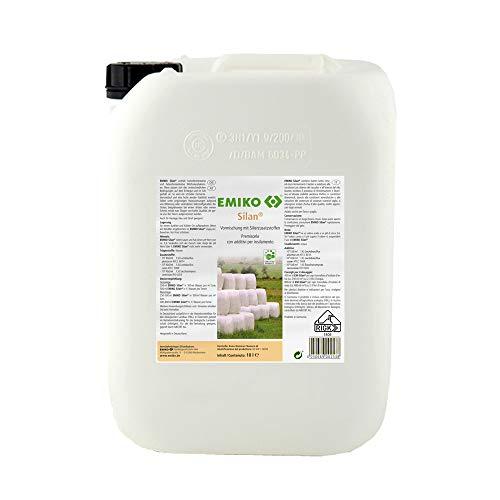 Emiko Silan 10 Liter, Silierzusatzstoff zur Verbesserung der Qualität und Haltbarkeit von Silage