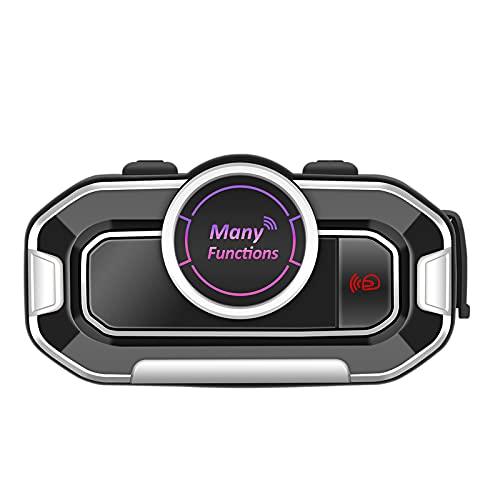 MagiDeal Auriculares para Casco de Motocicleta con Radio FM para Moto Dirt Bike Off Road