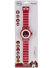 Disney Minnie Mouse Girls Digital Dial Plastic Wristwatch - TRHA1976