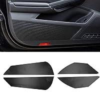 ZIMAwd 車内ドアカバーパッド滑り止めアンチキックパッド、車ドアアンチキックパッドステッカー、VWフォルクスワーゲンラマンドに適合