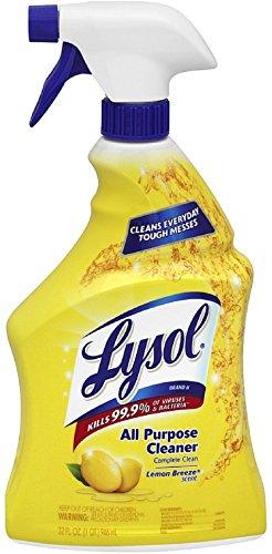 Lysol 32 Oz Lemon Breeze All Purpose Cleaner