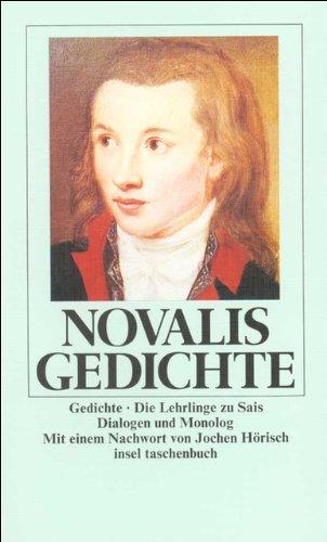 Gedichte: Die Lehrlinge zu Sais – Dialogen und Monolog (insel taschenbuch)