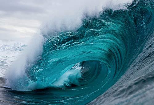 Fondos de Verano para fotografía Superficie del Agua del mar Ola Bebé Niño Fiesta de cumpleaños Fondos fotográficos escénicos Photocall A32 7x5ft / 2.1x1.5m