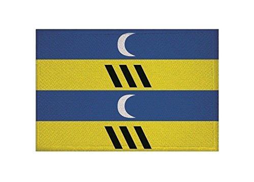 U24 applicatie Ameland vlag opstrijkapplicatie 9 x 6 cm