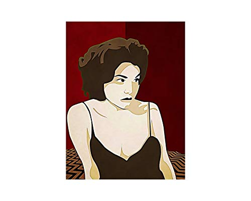 CTYCHICO Twin Peaks Movie Mystery Horror Drama tv Series Funny Dale-Cooper Audrey-Horne Portrait Gordon-Cole Wall Art Print Painting Home Decor Gifts for Lovers Poster