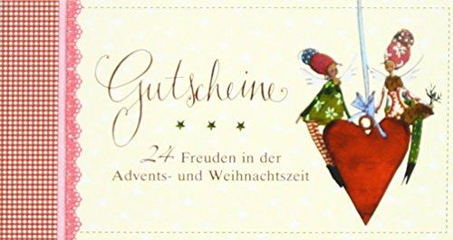 Gutscheinbuch für die Adventszeit