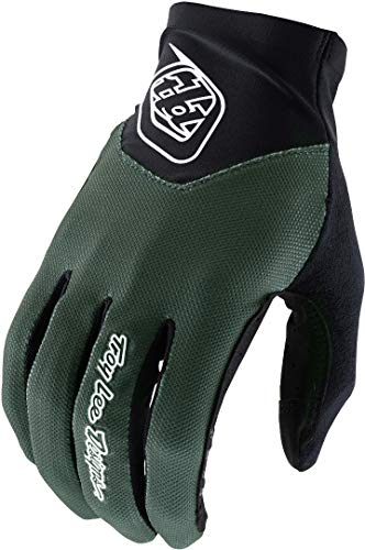 Troy Lee Designs Ace 2.0 Men's Off-Road BMX Cycling Gloves - Olive/X-Large