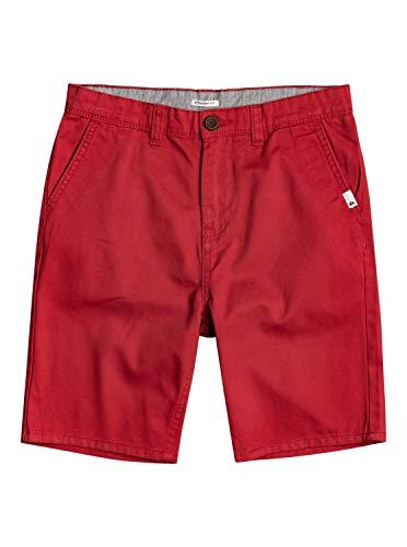 Quiksilver Everyday, Pantalones Cortos Informales Niños, Opacity, Rojo Americano, 26/12