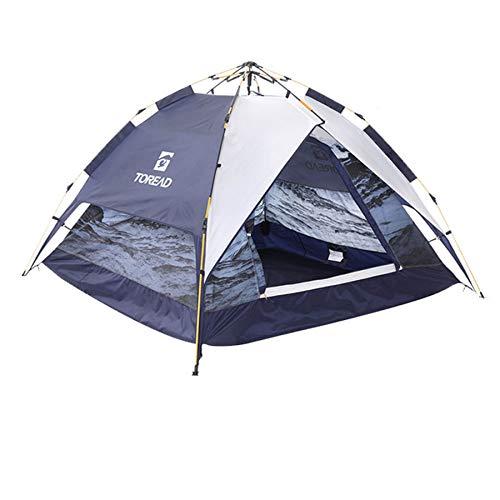 Ziyi tiendad de campaña,Tienda de campaña automatica,Carpa para Equipo de Campamento Totalmente automática en el Campo,Apertura rápida Tipo Paraguas,Doble Desmontable