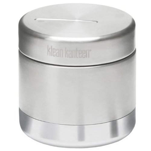 Klean Kanteen Unisex's Vacuum Insulated Food Canister, Silver, 236 ml