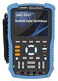 SIGLENT SHS820 - Osciloscopio digital de mano (2 canales, 200 MHz, 500 MS/s, 32 K)