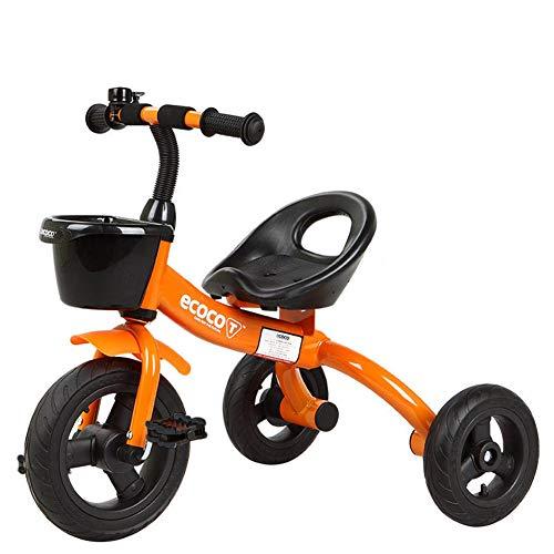 shuhong kinderen driewieler Kids Trike kinderwagen 3 wiel fiets Rollover Preventie ontwerp, Rubber wiel, verstelbare zitting, 1,5-5 jaar oud