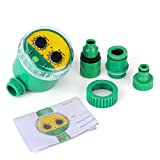 Jeffergrill Electronic Automatic Garden Riego Temporizador Flores Inteligentes Regador de Riego