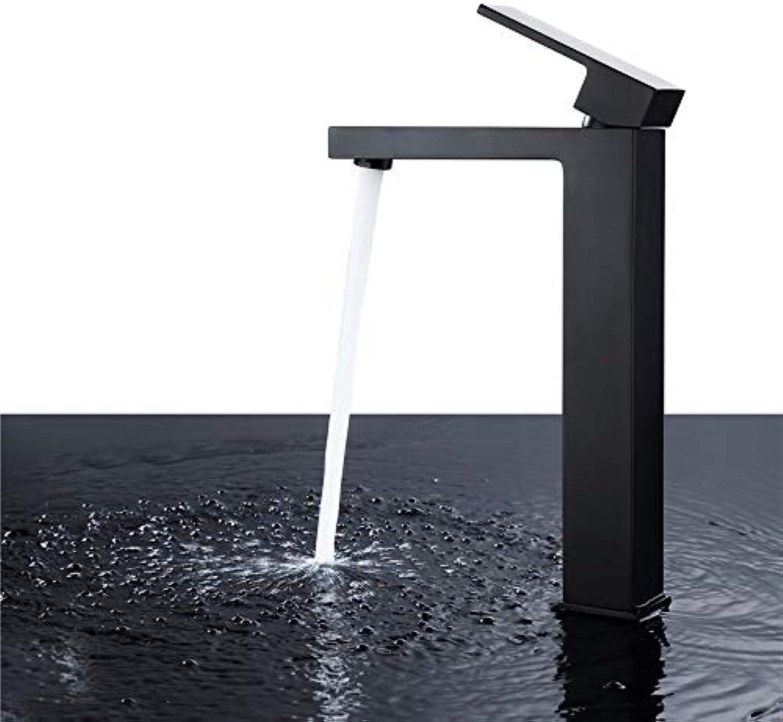 ROTOOY Wasserhhne Wasserhahn des Heien Und Kalten Wassers des Kupfernen Quadratischen Beckenhahns