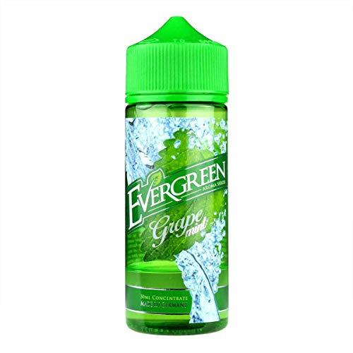 Evergreen Aromakonzentrat Grape Mint, Shake-and-Vape zum Mischen mit Basisliquid für e-Liquid, 0.0 mg Nikotin, 30 ml