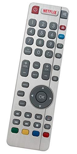 ALLIMITY DR-0438 Reemplazo de Mando a Distancia para Sharp Aquos TV LC-40CFG6242E LC-40CFG6351K LC-43CUG8461KS LC-49CFG6351K...