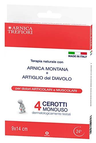 CEROTTI ARNICA e ARTIGLIO del DIAVOLO - 4 pezzi TREFIORI