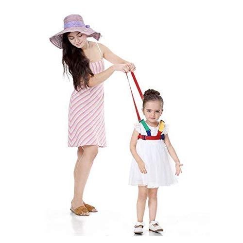YYDZ 2 in 1 Baby Safety Walking dishes child toddler Anti loss bracelet belt reins leash kids Assistant belt travel backpack (Color : 1)