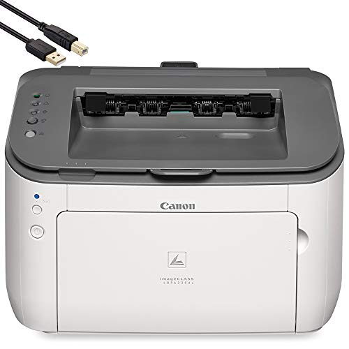 Canon ImageCLASS LB Series Wireless Black & White Monochrome Laser Printer for Business Office - 64MB Print Memory, 26 ppm Print Speed, up to 2400 x 600 Resolution, WiFi - BROAGE 5 Feet Printer Cable
