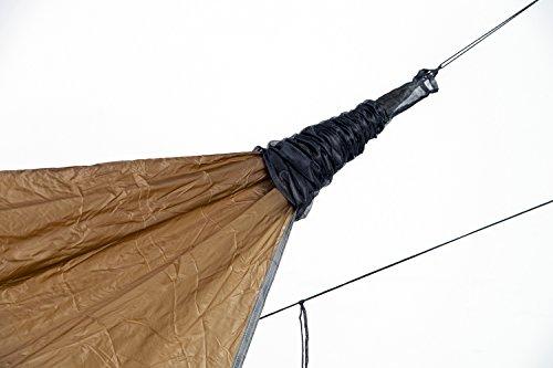 Aazonas Ultra-Light Tarp sok opberghoes voor hangmatten, zeildoeken, accessoires, slechts 35 g, voor outdoor, camping, survival