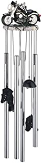 StealStreet SS-G-41353 Wind Chime Round Top Motorcycle Hanging Garden Decoration Windchime