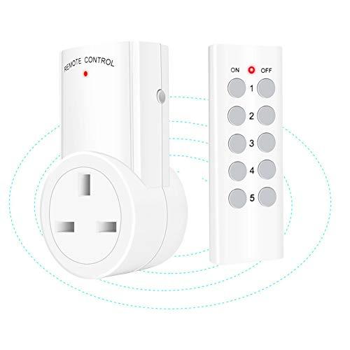 ILS - 433 MHz Wireless RF remoto control Smart WiFi toma de...