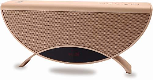 Conceptronic APOLLYON01GL 10 W Oro - Altavoces portátiles (10 W, 60-18000 Hz,...