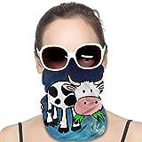 Glitzernde Kuh-Maske für Staub, Outdoor, Festivals, Sport