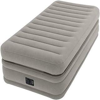 Intex Dura Beam Prime Comfort Espuma, PVC, Gris, 90 x 190 cm