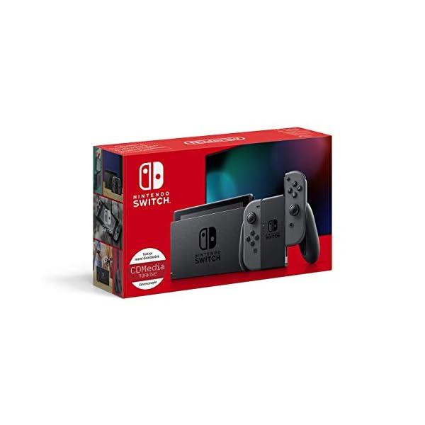 Nintendo Switch with Gray Joy‑Con (Renewed)