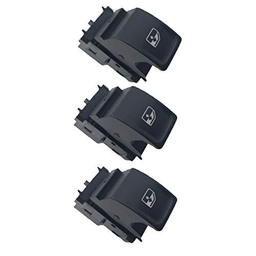 VOFP Interruptor de Ventana Interruptor de Control de la Ventana de energía Botón 5G0959857A 5G0959855 for VW Passat Tiguan Touran Skoda Kodiq Seat Leon 5G0959857E 5G0959857D Durable