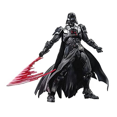 Siyushop Variant Play Arts Kai Darth Vader (PVC-Figur) - Schwarze Krieger-Actionfigur - Ausgestattet Mit Waffen Und Austauschbaren Händen - Hohe 26CM