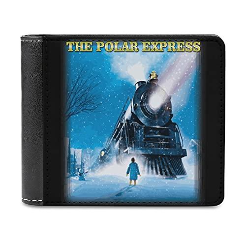 ポーラー・エクスプレス The Polar Express 財布 メンズ 二つ折り レディース 高級 ウォレット 新型 オシャレ PUレザー 上質折り畳み財布 コスパ最高 大容量 カード6枚 小銭入 男性 2021年新設計 クラシックレトロな雰囲気black-ポーラー・エクスプレス The Polar Express1One size