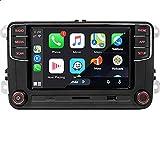 SCUMAXCON Car Stereo Carplay Android Auto Bluetooth RCD360 PORII 6.5' RCD330 USB SD RVC FM for Golf Passat Caddy Beetle Polo Jetta CC EOS