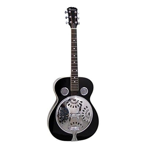 DIMAVERY RS-310 Resonanz-Gitarre,schwarz