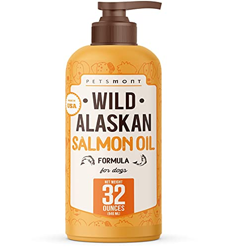 Petsmont Wild Alaskan Salmon Oil fo…