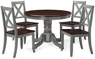 Maddox 5-Piece Dining Set, Blue