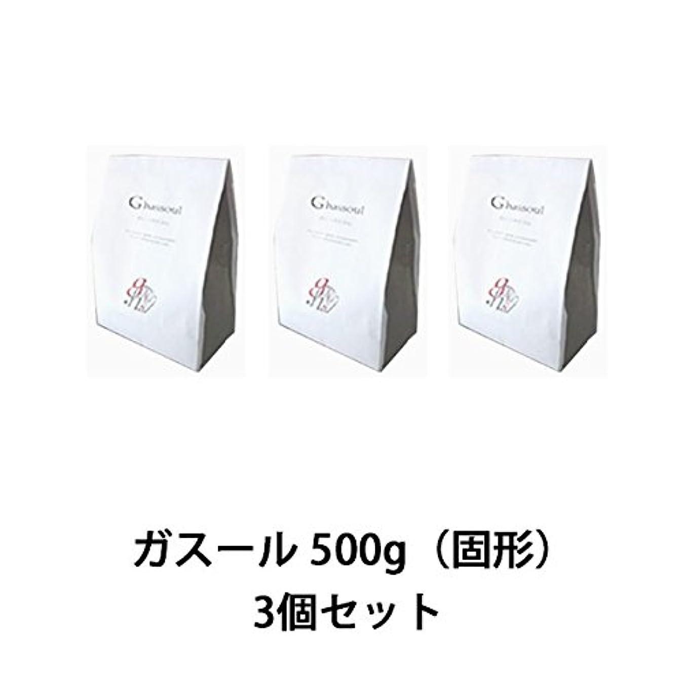 相談モディッシュ想像する【ナイアード】ガスール 固形 500g ×3個セット