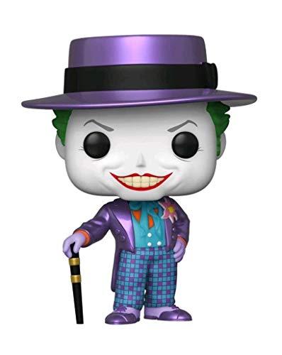 Funko POP! 49577 - Batman (1989) The Joker Metallic #337