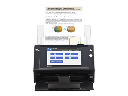 Fujitsu N7100 Network Document and Image Scanner with Large Touch Screen