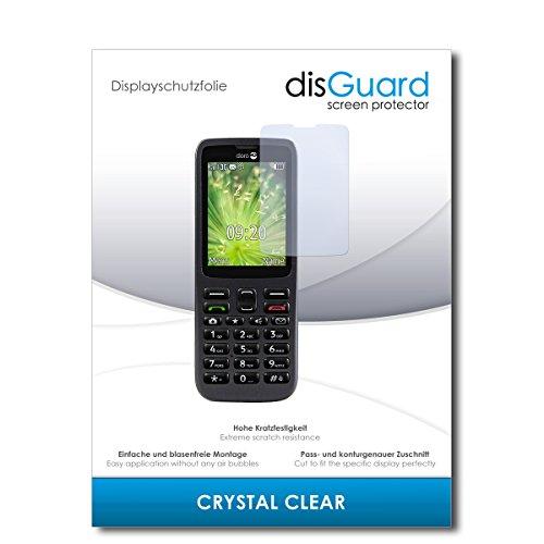 disGuard® Bildschirmschutzfolie [Crystal Clear] kompatibel mit Doro 5516 [2 Stück] Kristallklar, Transparent, Unsichtbar, Extrem Kratzfest, Anti-Fingerabdruck - Panzerglas Folie, Schutzfolie