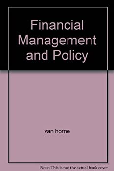 Hardcover Financial Management and Policy Book