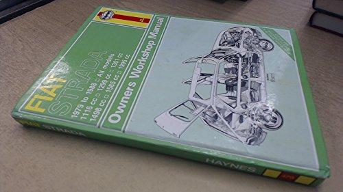 Fiat Strada 1979-88 Owner's Workshop Manual (Service & repair manuals)