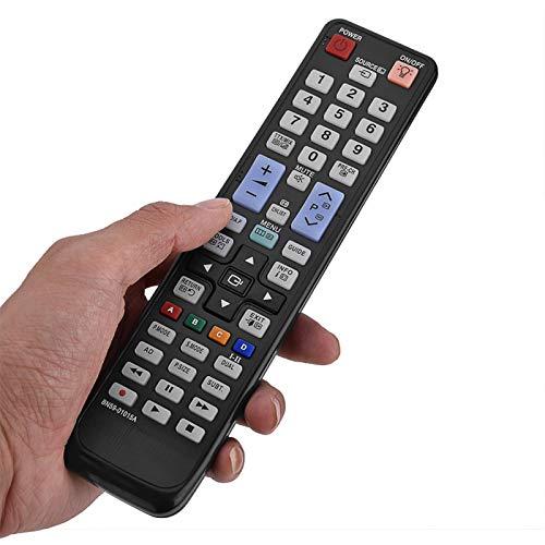 BOLORAMO Control Remoto De, Controlador Dedicado De Repuesto Inalámbrico con 2 Pilas AAA para Compatible con BN59-01015A