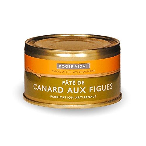 Roger Vidal - Pastete Ente mit Feigen (Canard aux Figues) 125 g