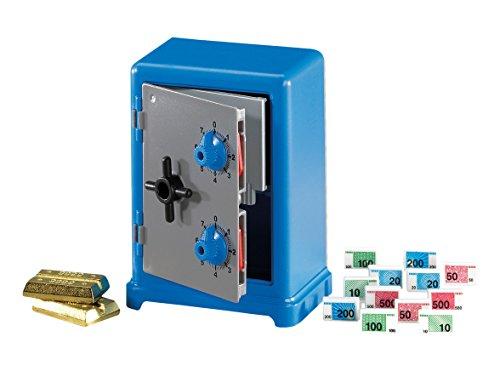Outletdelocio. Playmobil 7446. Caja Fuerte de combinacion. con Dinero y lingotes de Oro