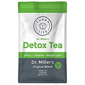 Detox products Lurra Life Dr. Miller's Detox Tea | Original Blend | for Detox, Natural Cleansing,