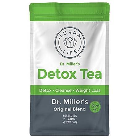 Detox products Lurra Life Dr. Miller's Detox Tea | Original Blend | for Detox, Natural Cleansing,